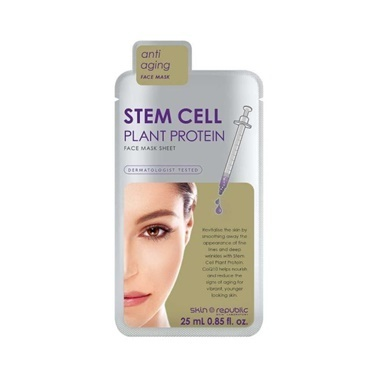 Skin Republic Skin Republic Stem Cell Plant Protein Mask Sheet 25ml Renksiz